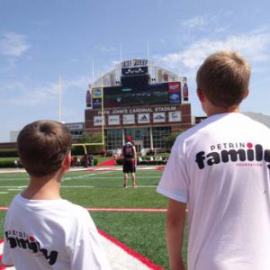 Just for Kids Football Clinic and the Petrino Family Foundation