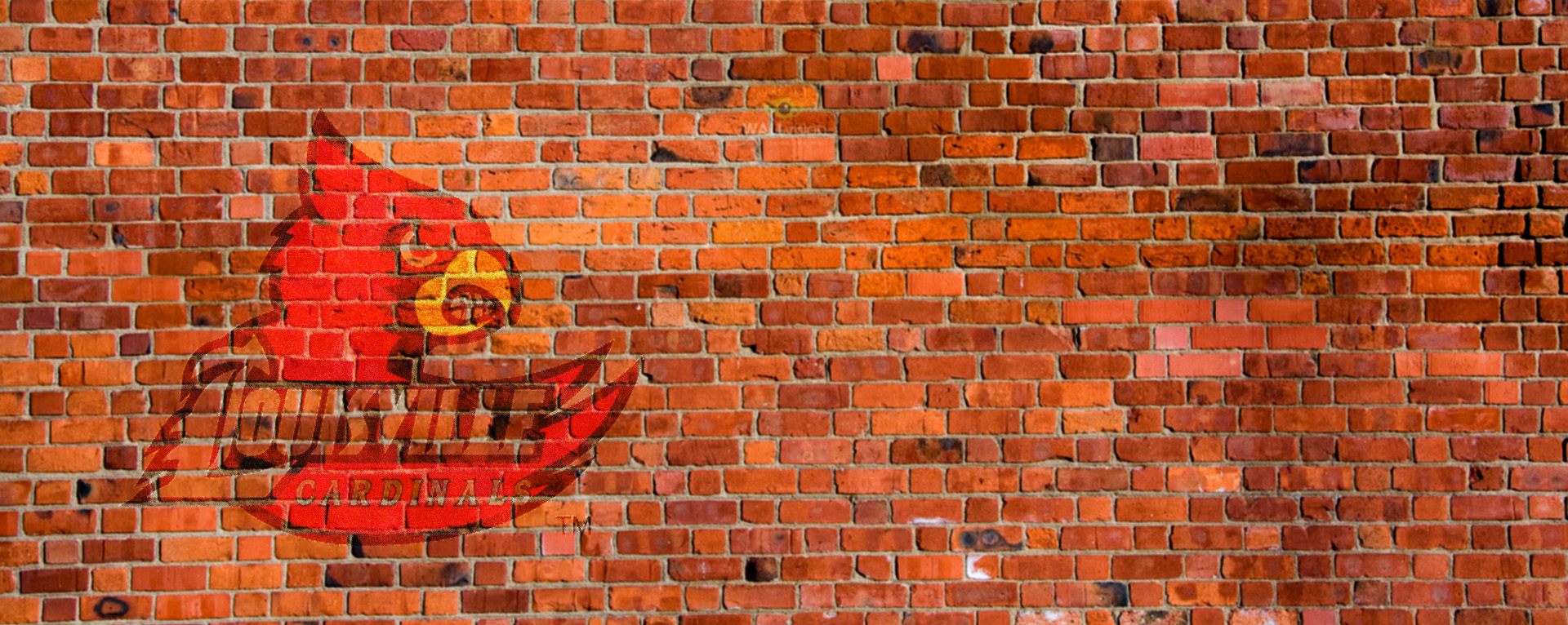 UofL logo on bricks