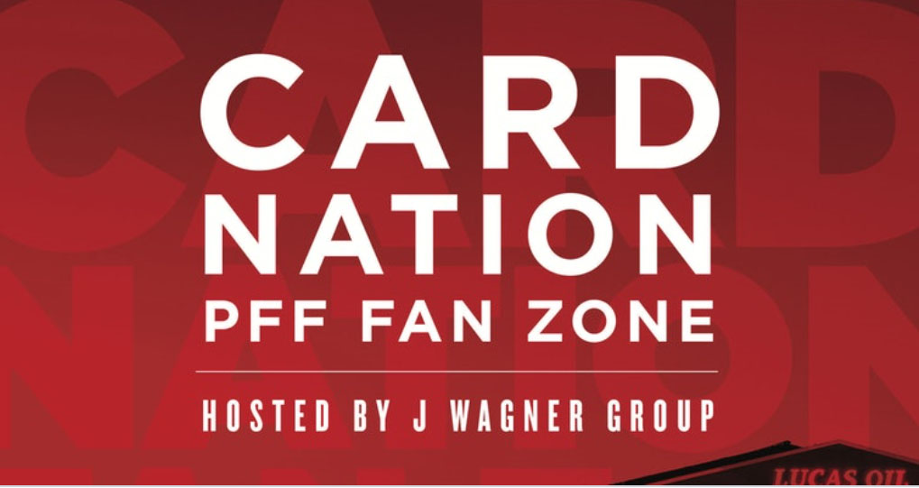 CARD NATION Petrino Family Foundation FAN ZONE