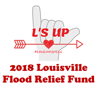 2018 Louisville PFF flood relief fund Logo